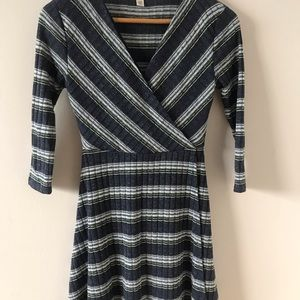 boutique stripped dress